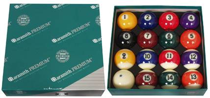 ARAMITH PREMIUM - Set Billard Kugeln - Ø 57,2 mm