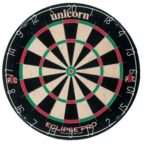 UNICORN ECLIPSE PRO - Offizielles Turnier-Dartboard der PDC
