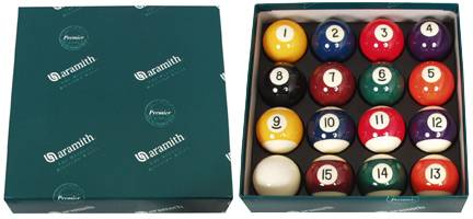 ARAMITH PREMIER - Set Billard Kugeln - Ø 57,2 mm