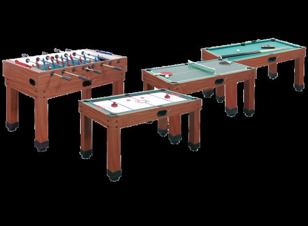 GARLANDO MULTI 9 PRO - Multifunktionsspieltisch - 9 Spiele!