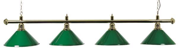 Billardlampe BUFFALO X4 GRÜN - 4-flammig