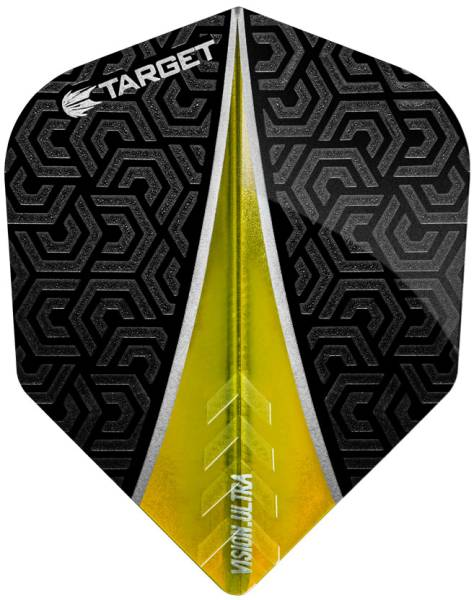 TARGET VISION ULTRA 100 - Flight - 3 Stück - Yellow