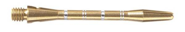 Shaft - ANODISED ALU RE-GROOVED - short/medium - Goldfarbig