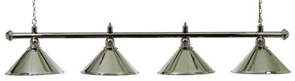 Billardlampe BUFFALO X4 CHROM - 4-flammig