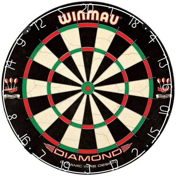 WINMAU DIAMOND - Dartboard für Steel- & Softdarts - 3010