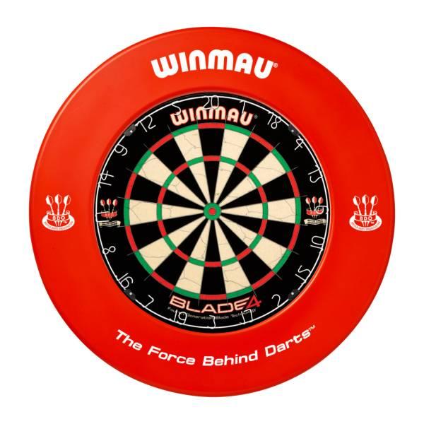 WINMAU CATCHRING ROT - Schutzring für Steel-Dartboards