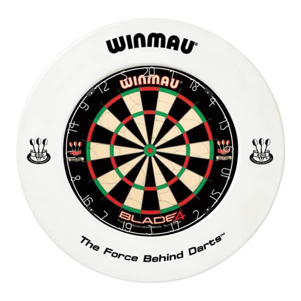 WINMAU CATCHRING WEISS - Schutzring für Steel-Dartboards