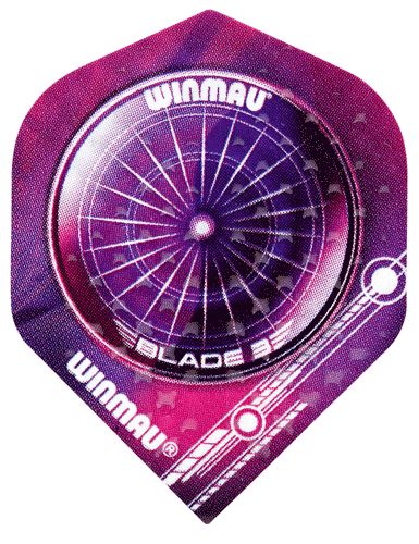 WINMAU - Flight - EMBOSSED STANDARD - 3 Stück