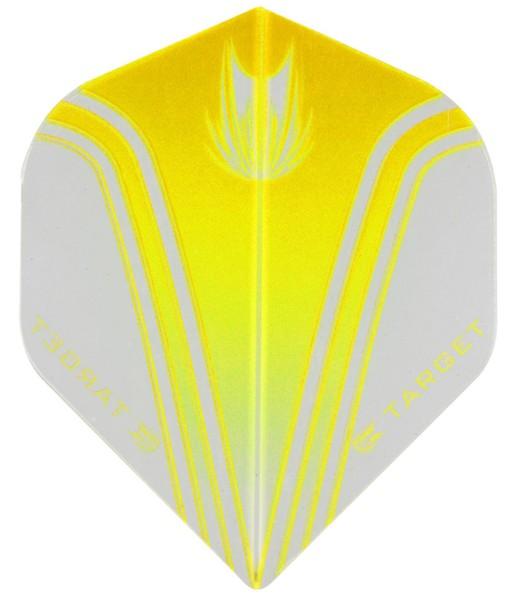 TARGET VISION PRO 100 - Flight - 3 Stück - Simple Yellow