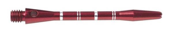 Shaft - ANODISED ALU RE-GROOVED - short/medium - Rot