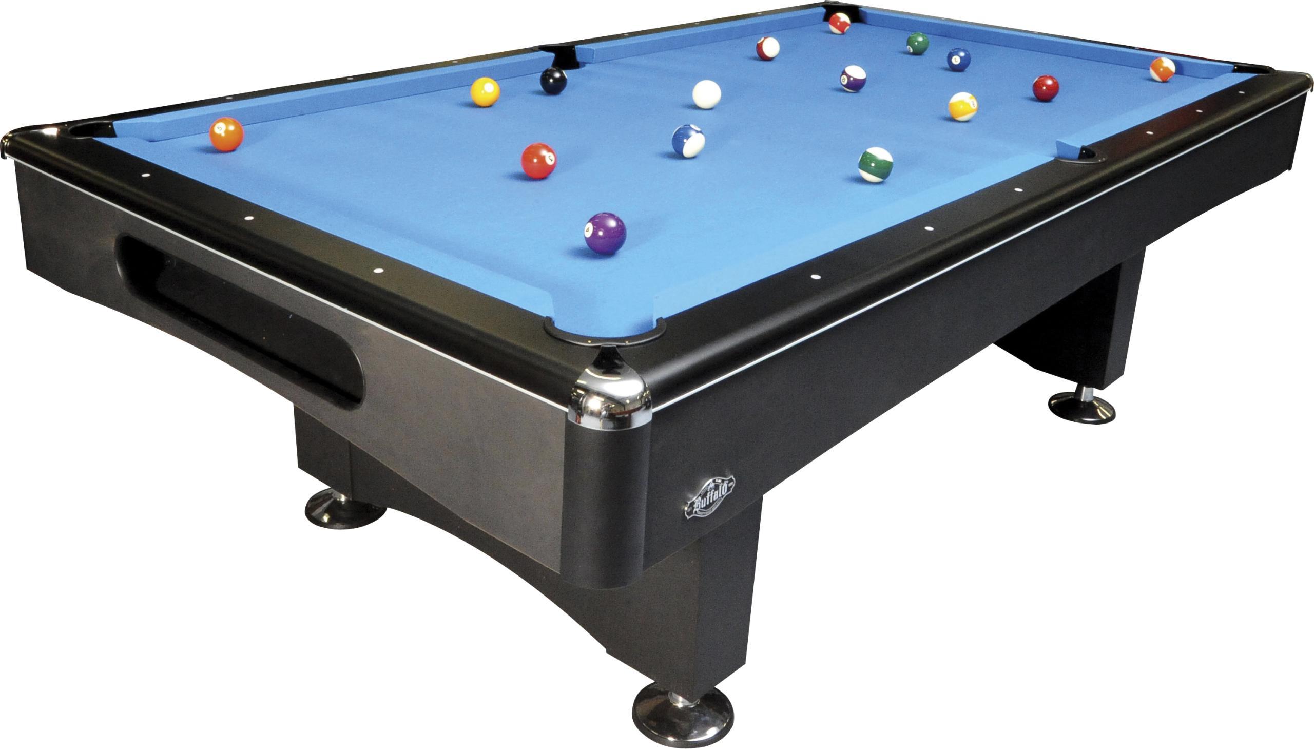 buffalo eliminator ii - 8 feet - pool billard table - 3-piece