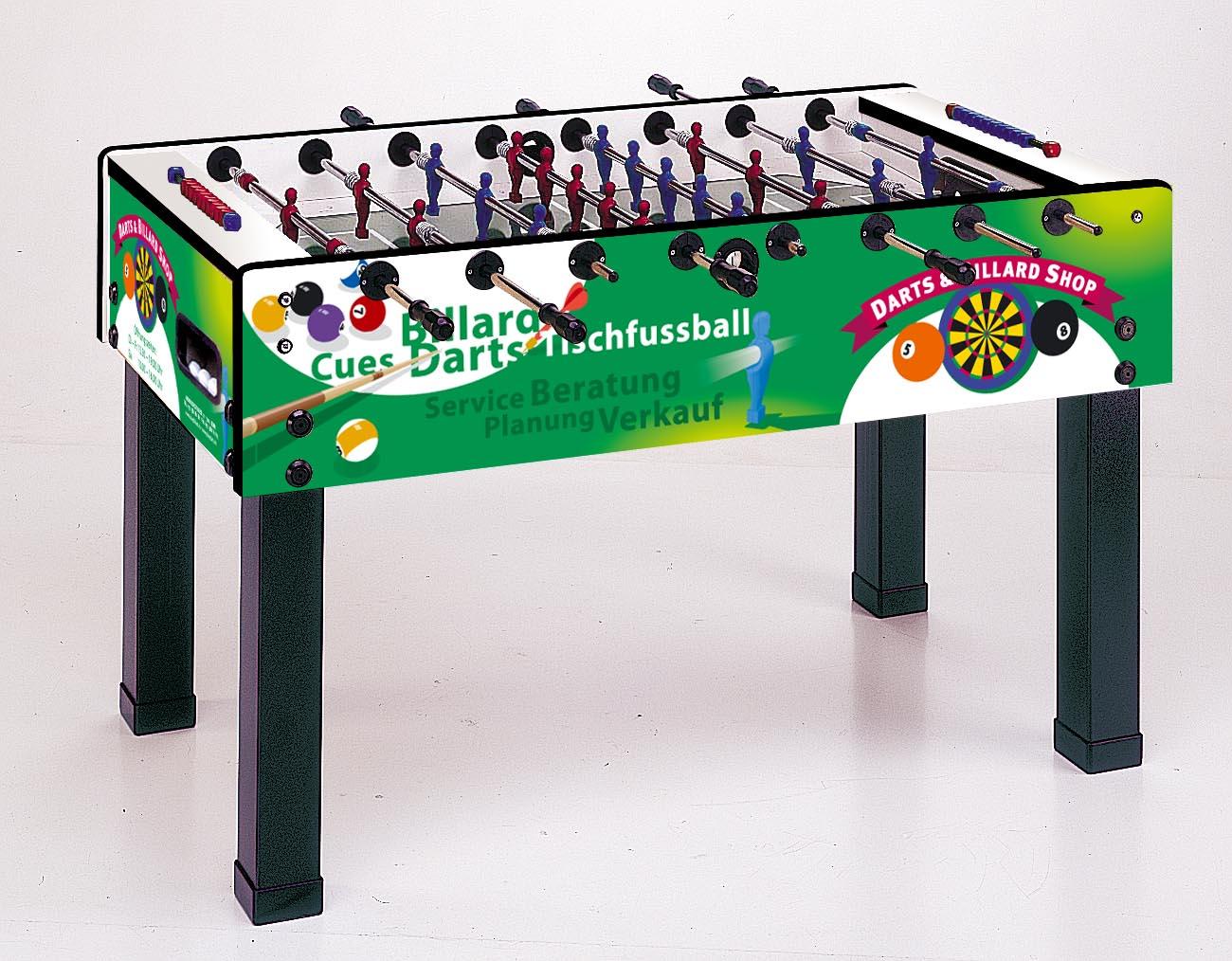 "Miet-Fussballtisch Garlando G-500 ""Darts & Billard Shop"""