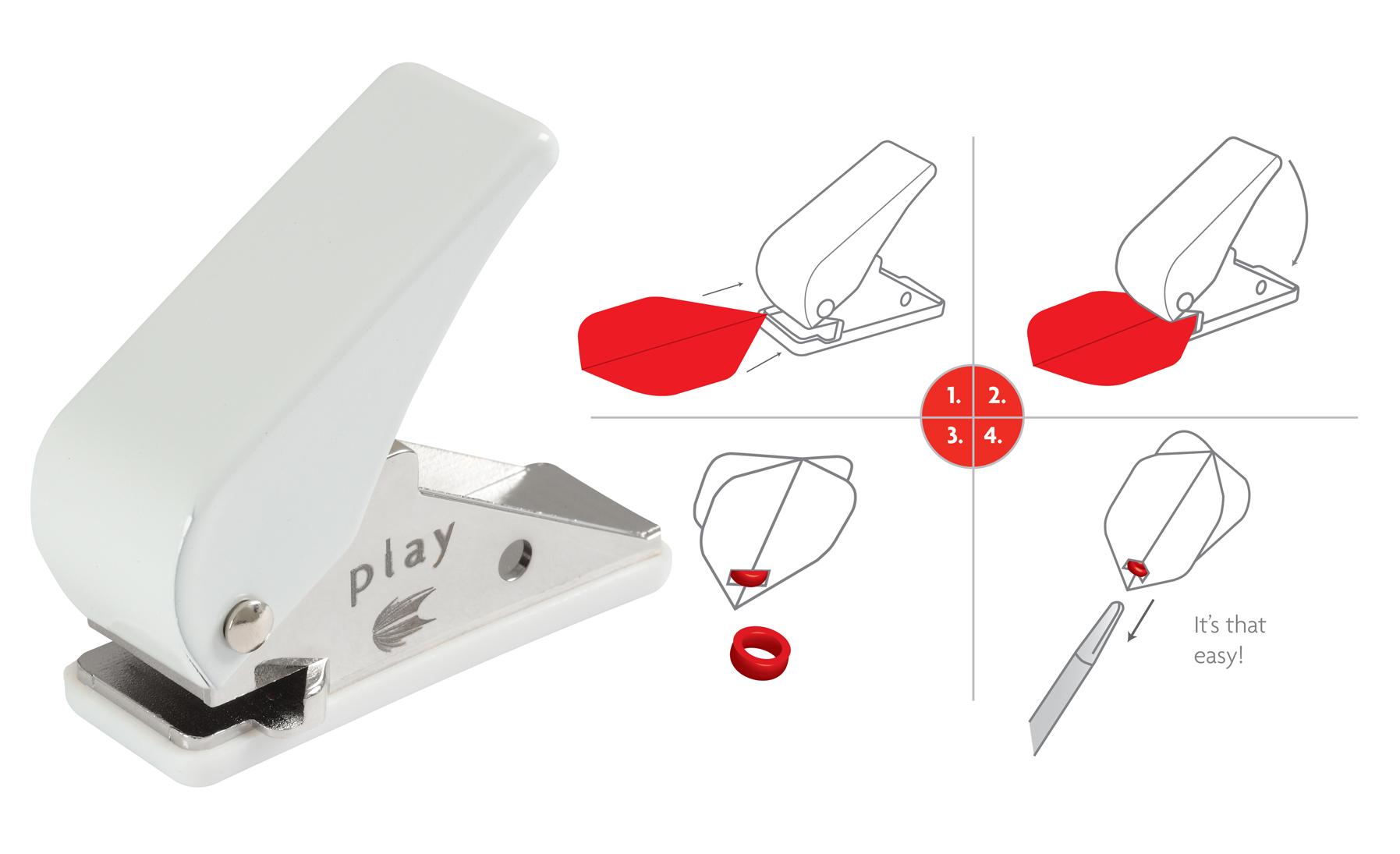target flight locher optimale flight fixation auf nylonshaft zubeh r darts darts. Black Bedroom Furniture Sets. Home Design Ideas