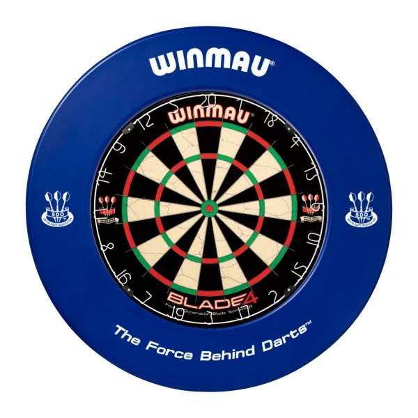 WINMAU CATCHRING BLAU - Schutzring für Steel-Dartboards