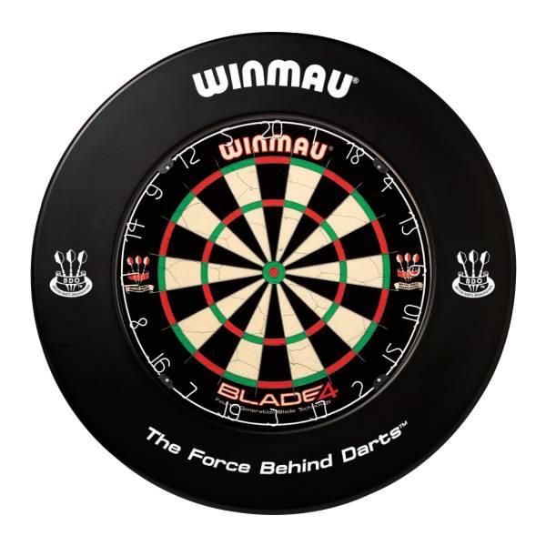 WINMAU CATCHRING SCHWARZ - Schutzring für Steel-Dartboards