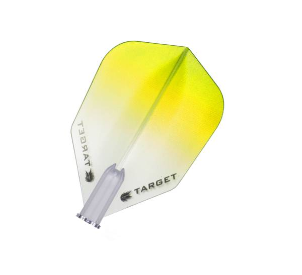 TARGET VISION PRO 100 - Flight - 3 Stück - Vignette Yellow