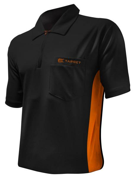 Target Coolplay Hybrid - BLACK & ORANGE - Dart Shirt
