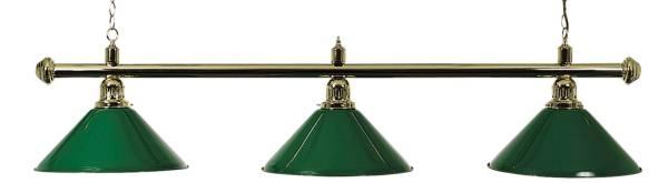 Billardlampe BUFFALO X3 GRÜN - 3-flammig