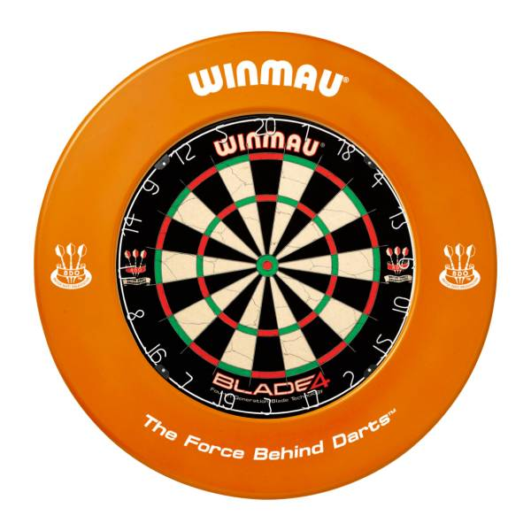 WINMAU CATCHRING ORANGE - Schutzring für Steel-Dartboards