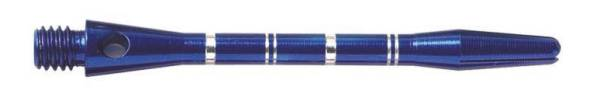 Shaft - ANODISED ALU RE-GROOVED - short/medium - Blau