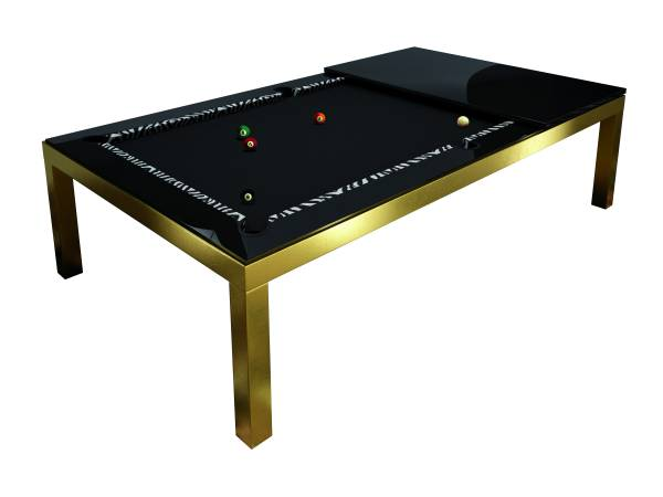 Fusiontable - GOLD - 24 K vergoldet