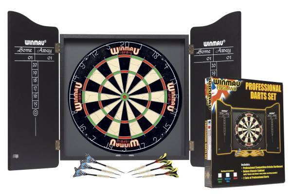 WINMAU Professional Darts Set für Steel- & Softdarts