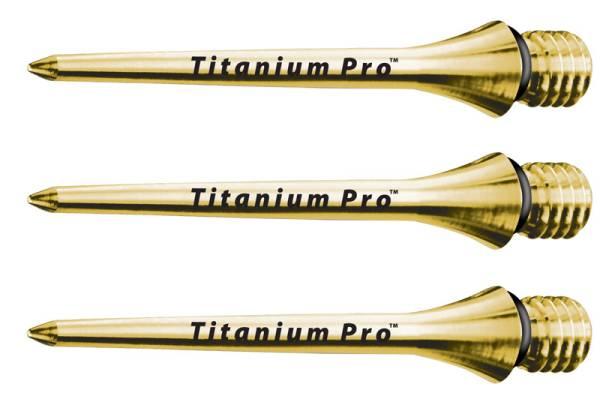 TARGET TITAN-Spitzen für E-Darts - 26 & 30 mm - GOLD