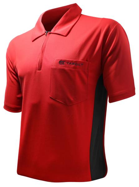 Target Coolplay Hybrid - RED & BLACK - Dart Shirt