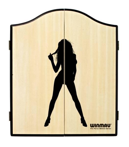 WINMAU Dartboard Cabinet - FRAU (hell) - 4061