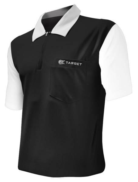 Target Coolplay 2 Dart Shirt - BLACK & WHITE