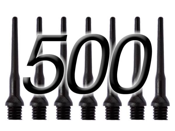 WINMAU E-Dart-Spitzen - 500 Stk - schwarz - 25 mm
