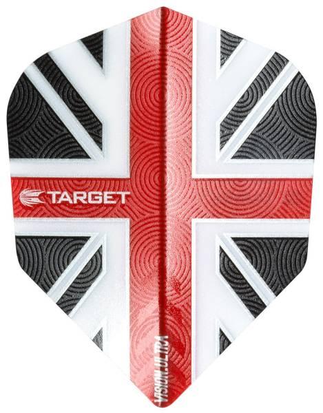 TARGET VISION ULTRA 100 - Flight - 3 Stück - UK Red No6