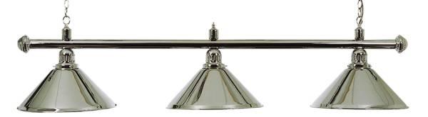 Billardlampe BUFFALO X3 CHROM - 3-flammig