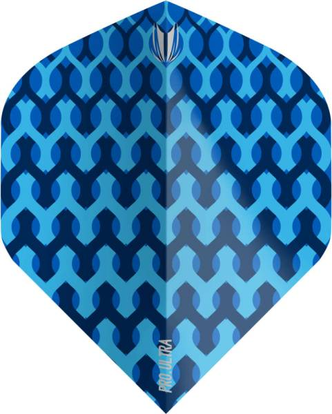 TARGET VISION ULTRA 100 - Fabric Blue - Flight - 3 Stück