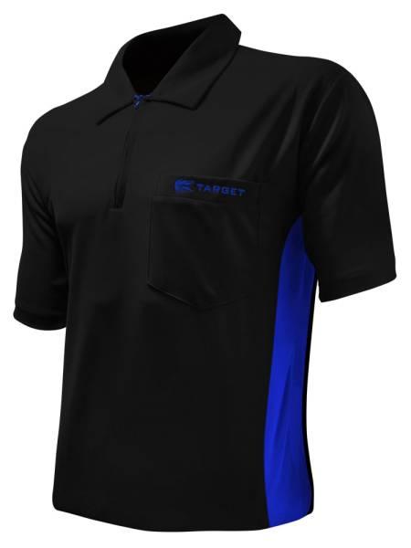 Target Coolplay Hybrid - BLACK & BLUE - Dart Shirt