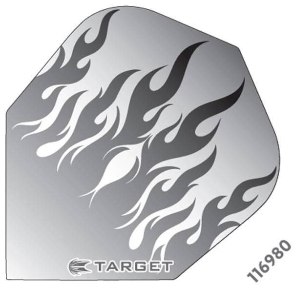 TARGET VISION PRO 100 - Flight - 3 Stück - Grey Flames
