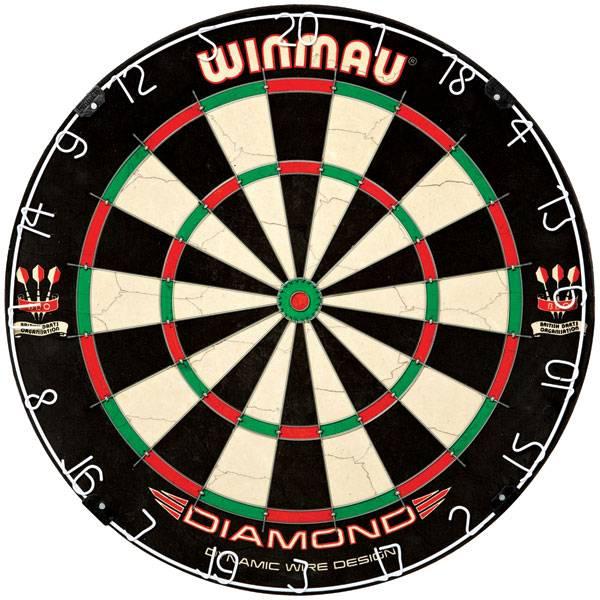 WINMAU DIAMOND - Dartboard für Steel- & Softdarts - 3010
