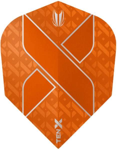 TARGET Ten-X - Orange - Flights - 3 Stück