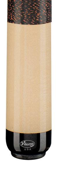 VIKING A229 Black/Walnut - Billard Queue - Handmade in USA