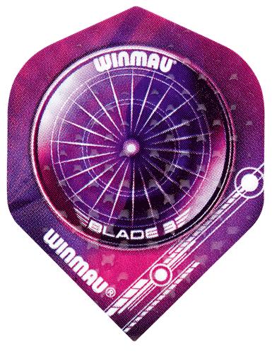 WINMAU - Flight - EMBOSSED STANDARD - 3 Stück