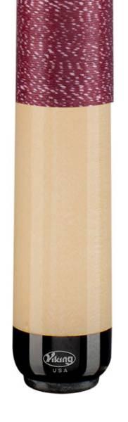 VIKING A229 Burgundy/White - Billard Queue - Handmade in USA