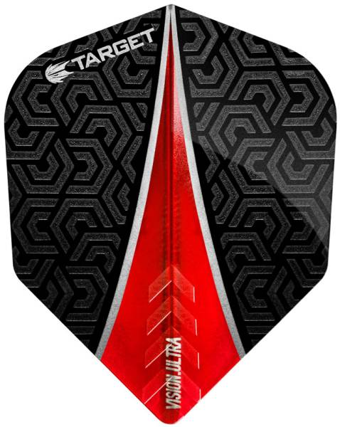 TARGET VISION ULTRA 100 - Flight - 3 Stück - Red