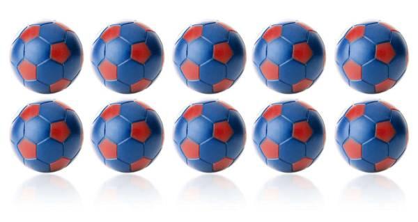 Robertson WINSPEED Tischfussball Bälle - Blau/Rot - 10 Stk - Töggelibälle