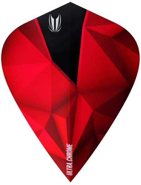 TARGET VISION KITE 100 - Flight - 3 Stück - Shard Crimson