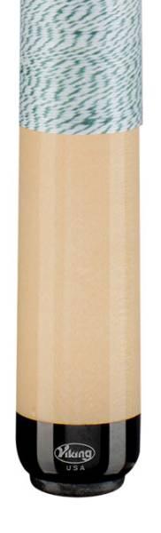 VIKING A229 White/Green - Billard Queue - Handmade in USA