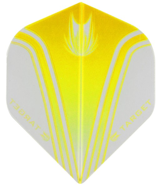TARGET VISION PRO 100 - Flight - 3 Stück - Simple Yellow