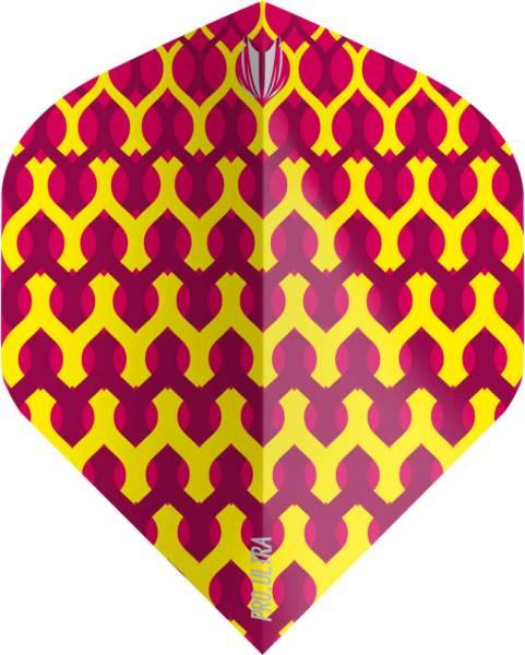 TARGET VISION ULTRA 100 - Fabric Yellow - Flight - 3 Stück