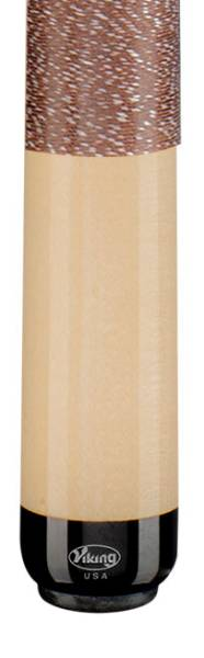 VIKING A229 Walnut/White - Billard Queue - Handmade in USA