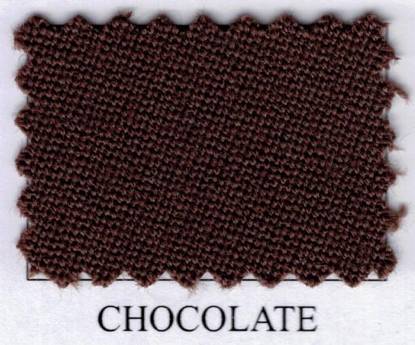 SIMONIS 760 - Chocolate - Tuchbreite: 195 cm - Billardtuch