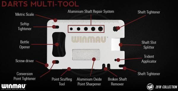 WINMAU Darts - Multifunktionswerkzeug mit Flaschenöffner
